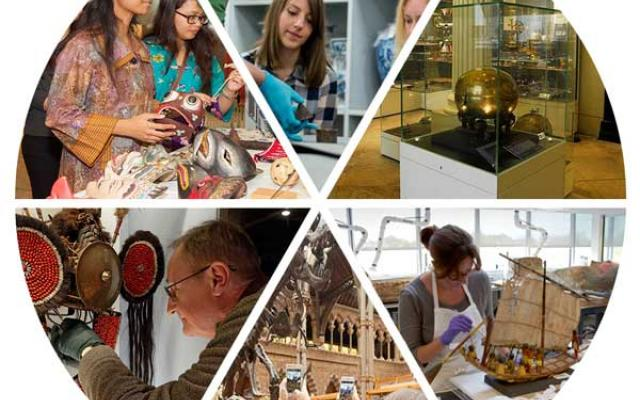 Collage of Museum public engagement images