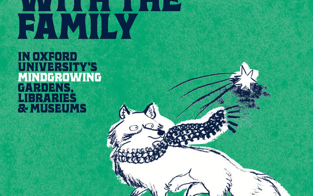 Mindgrowing campaign image featuring the Museum of Natural History fox