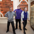Keystage 3 students from Opie Class at the History of Science Museum. Image Oxford University Gardens, Libraries & Museums; credit Claire Williams.