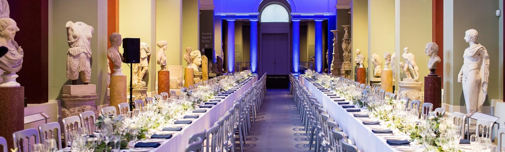 Dining event at the Ashmolean