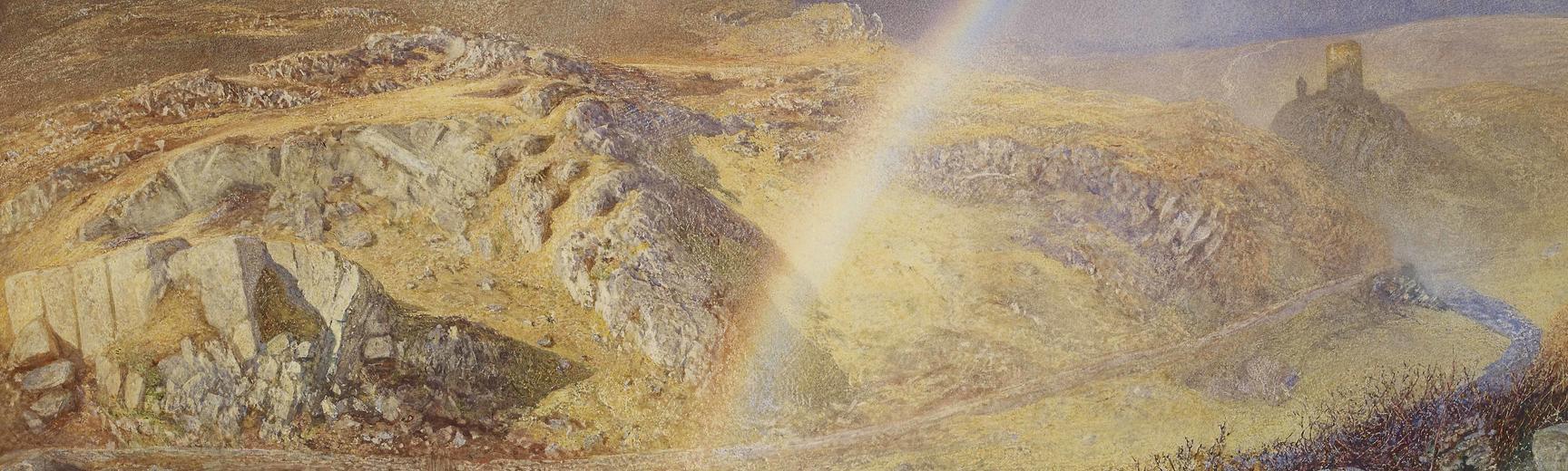 Alfred William Hunt, A November Rainbow