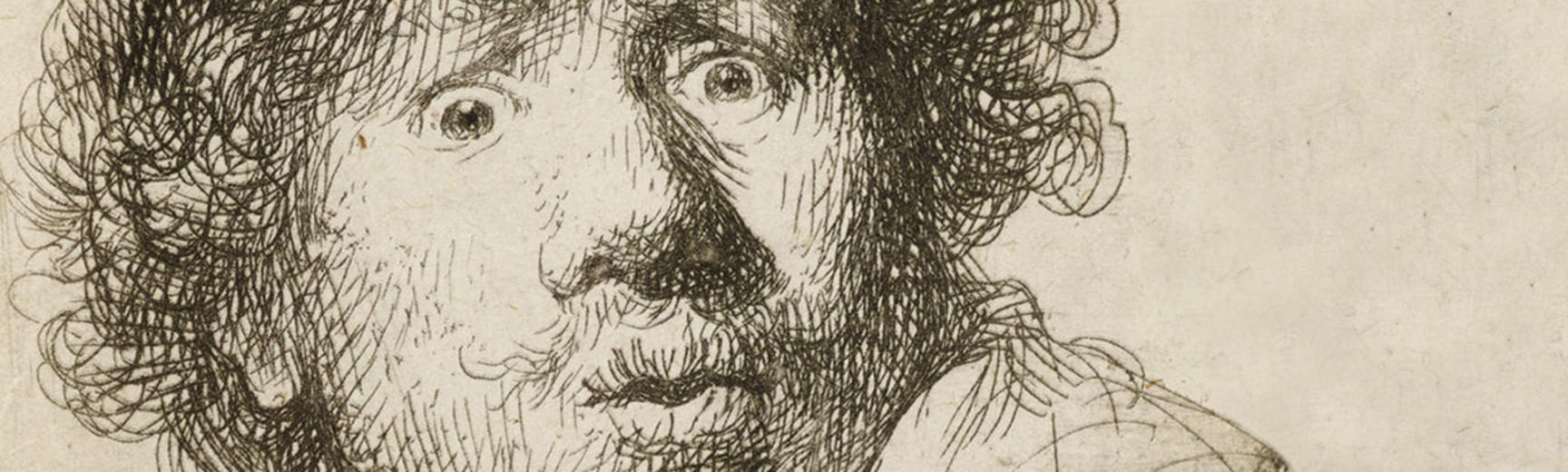 Rembrandt drawing detail