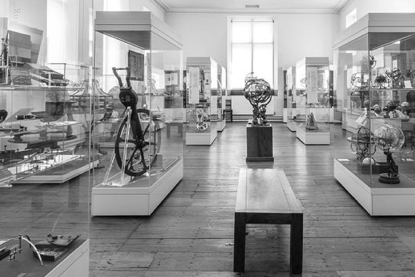 history of science museum cropped bw
