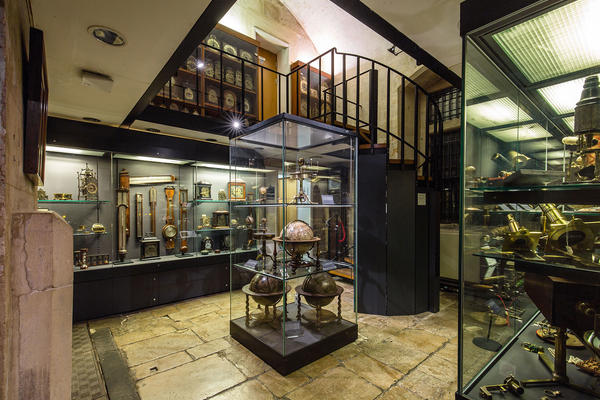 Basement Gallery in History of Science Museum