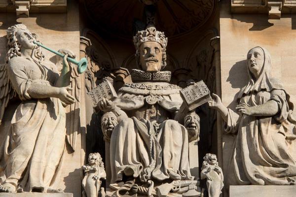 Statue of James VI