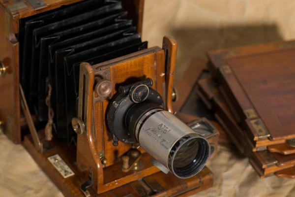 TE Lawrence's camera