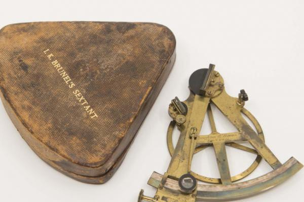 I. K. Brunel's Surveying Sextant, by Troughton & Simms, London, c. 1830