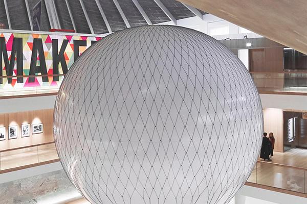 Interior view of Design Museum