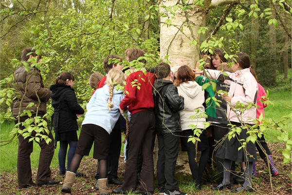 Adult learning session in the History of Science Museum / School visit to the Harcourt Arboretum / Outreach session with older people