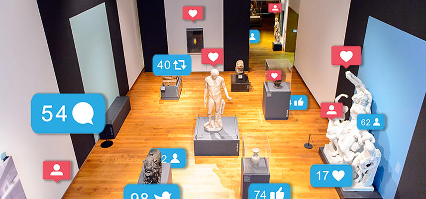 Mapping Playful spaces - a museum gallery through a social media lens