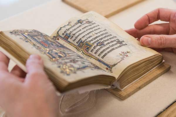 Image of book of prayers from Bodleian Libraries' Special Collections