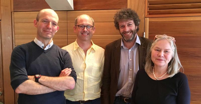 Oxford Cultural Leaders Faculty, Jonathan Lloyd (Pegasus Theatre), Pegram Harrison (Said Business School), Richard Evans (Beamish), Janet Barnes (Yorkshire Museums Trust)