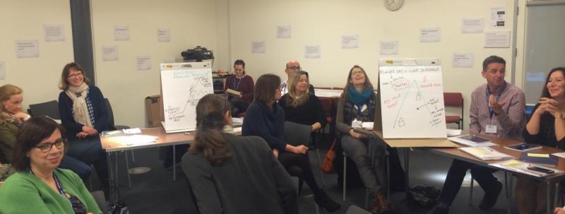 Oxford Cultural Leaders delegates preparing for Venture Sprint