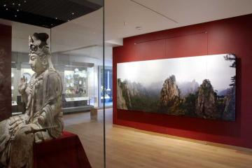 View of the Ashmolean Gallery 38, Later China