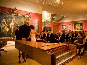 Wedding in the Mallet Gallery, Ashmolean Museum