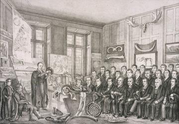 William Buckland lecturing