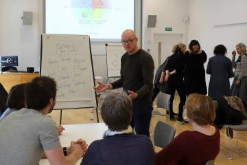 Paul Gibbons on Oxford Cultural Leaders 2018