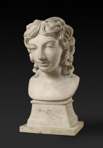 Bust of Prince Henry Lubomirski (1777-1850) by Anne Damer (1748-1828)