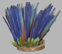 Feather headdress, Guyana, Pitt Rivers Museum